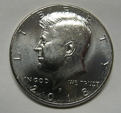 2018-P John F Kennedy Clad Half Dollar Choice BU Condition From BU Roll    DUTCH