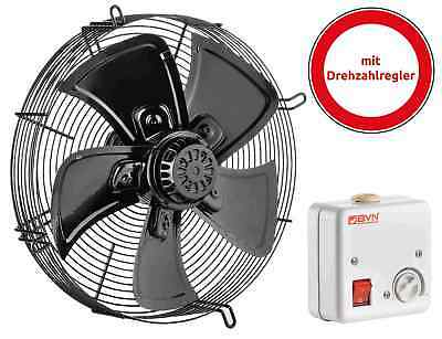 Exhaust Fan 4m300s-ac Cold Rooms / Aggregate Condensor 300mm1700m³/H + Regulator