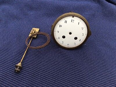Old Vintage French  Clock Movement