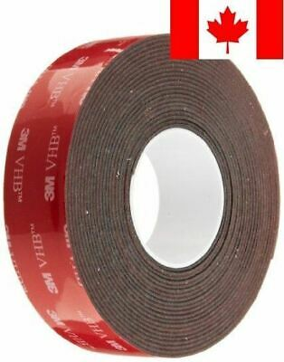 TapeCase 1 in Width x 5 yd Length, Converted from 3M VHB Tape 5952 (1 Roll)