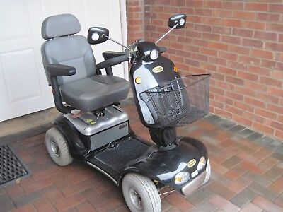 SHOPRIDER CADIZ 8MPH Mobility Scooter Black S-889SL USED with instruction  manual
