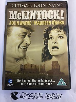McLintock Ultimate John Wayne DVD Original Boxed