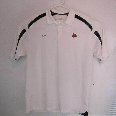 26ed20b2 MENS LARGE ARIZONA Cardinals Nike Onfield Dri Fit red polo shirt ...