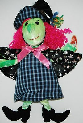 Scary the Witch TY Beanie Babies Halloween Plush 11 inch retired mint cond 2000