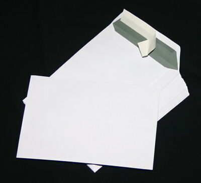 100 St Envelopes Extra Strong 120 Size DIN A4 C4 White Without Windows HK
