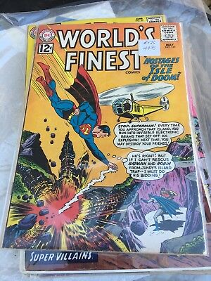 1962 Worlds finest comics superman #125
