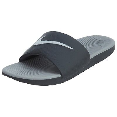 5226bb81b800 NIKE KAWA SLIDE Men s Sandals Dark grey White 832646 001 Sz7 Fast ...