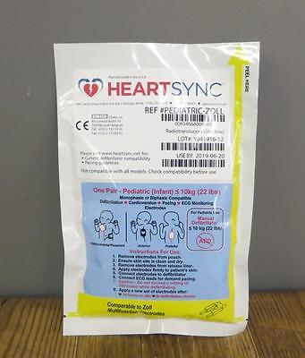 NEW Zoll HeartSync Pediatric Multifunction Electrode Pads M E R Series <22LBS