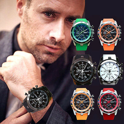 Fashion Men Modern Casual Sport Stainless Steel Analog Quartz Boys Wrist Watches