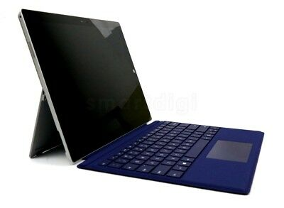 Genuine Deep Blue Microsoft Surface Pro 4 Pro 3 Type Cover Keyboard With Backlit