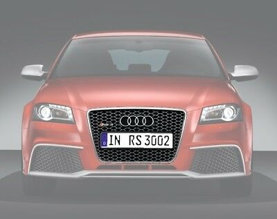 Genuine AUDI RS3 S3 A3 8P SFG Grill Grille (08-11) Chrome