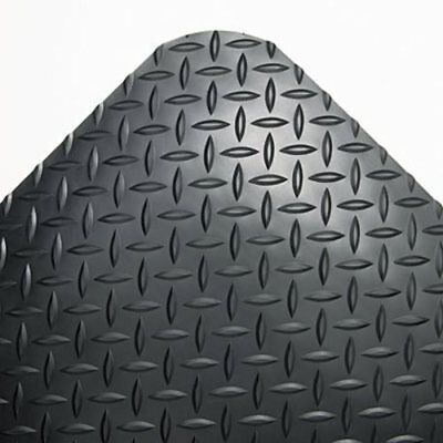 Crown Industrial Anti-Fatigue Mat, Vinyl, 36 x 144, Black (CWNCD0312DB)