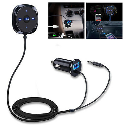 Bluetooth Empfänger Auto Wireless3.5mm Adapter Receiver KFZ Audio Stereo Aux IN