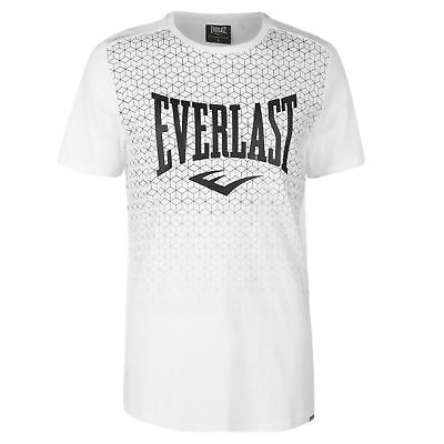 Everlast Geometric Stamp T Shirt Mens Gents Crew Neck Tee Top Short Sleeve