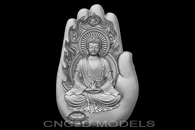 3D Model STL for CNC Router Engraver Carving Relief Artcam Aspire Religion g627