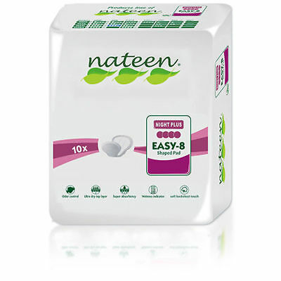 Night Plus Tendercare-Nateen Shaped Incontinence Pads (Purple)