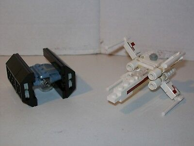 LEGO STAR Wars Rogue One - Mini X Wing & Tie Fighter 30051 & 3219 ...