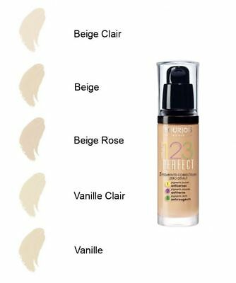 Bourjois 123 Perfect Foundation *choose Your Shade* New Without Lid