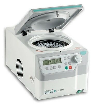 NEW Benchmark Hermle Z216-MK Refrigerated Microcentrifuge 44 place rotor