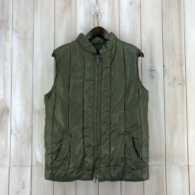 Vintage 1970s Made In England Barbour 1 Crest Quilted Body Warmer Vest Gilet S
