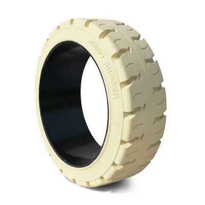 Solid Press On Tire 16-1/4x6x11-1/4 Traction Non Marking