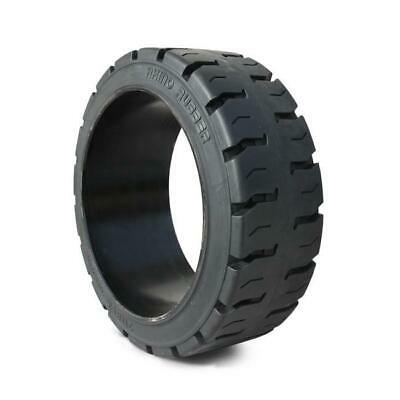 Solid Press On Tire 18x7x12-1/8 Traction