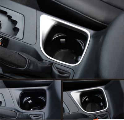 Interior Cup holder Cover Trim Frame Accessories For Toyota RAV4 2013-2018