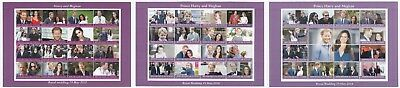 GB Royal Wedding, Prince Harry & Meghan Markle MNH Stamp Sheetlet, Choice of 3
