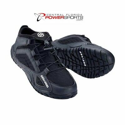 Brand New Sea-Doo Watercraft Riding Shoes Unisex Size 11 Black