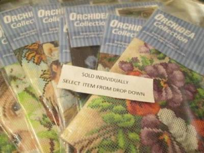 Orchidea Collection Needlepoint Canvas Your Choice Various Sizes