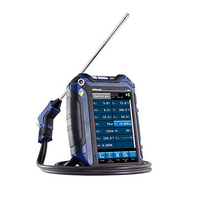 Wohler A550WP (7757) Flue Gas Analyzer with Thermal Fast Printer