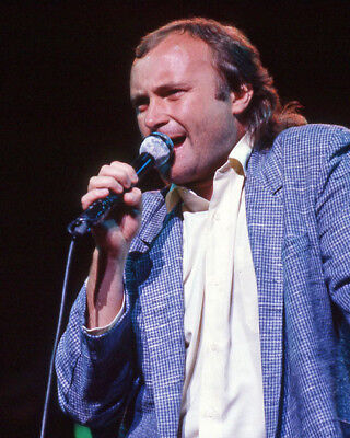 1985 Rock Band GENESIS Glossy 8x10 Photo PHIL COLLINS Print Music Poster