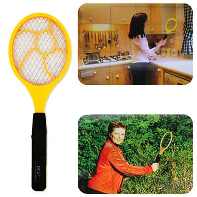 Electric Tennis Racket Electric Mosquito Swatter Handheld Red Blue