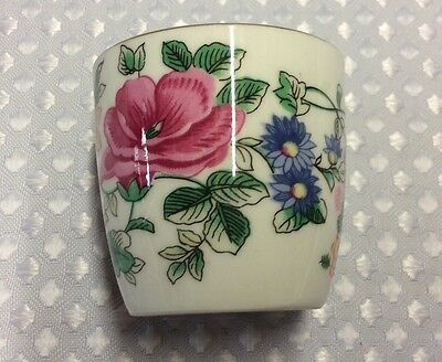 Vintage Crown Staffordshire Thousand Flowers Egg Cup