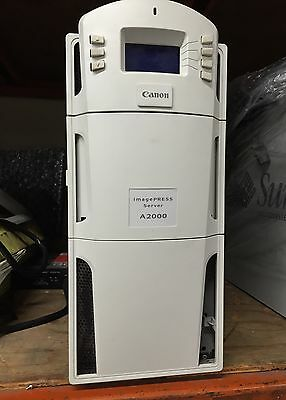Canon A2000 Server, Fiery For Imagepress 6000, 7000 Copiers