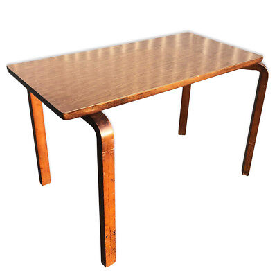 Exceptional Vintage Mid Century Modern Thonet Bentwood Accent Table