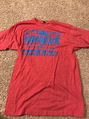 Kanakuk K-1 Red Ultra Soft T Shirt Adult Large Tultex