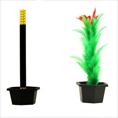Comedy Magic Wand To Flower Magic Trick Kid Show Prop Toys Kid Gift NTXP