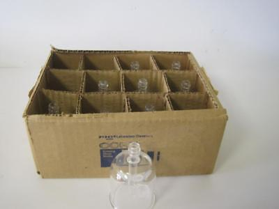 Lot Of 9 New Corning 3960 Pyrex Filling Bell For Culture Tubes & Bottles 23X70Mm