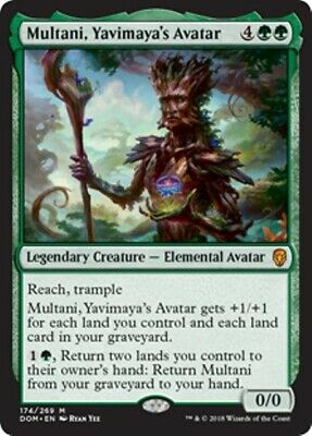MULTANI, YAVIMAYA'S AVATAR Dominaria MTG Green Creature—Elemental Avatar Mythic