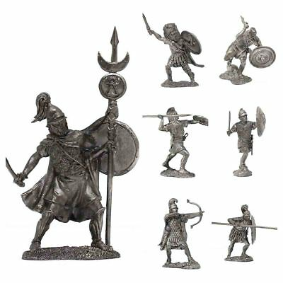 "Tin toy metal soldier ""Army of Ancient Carthage, Punic Wars, 3-2c BC"" scale 54mm"