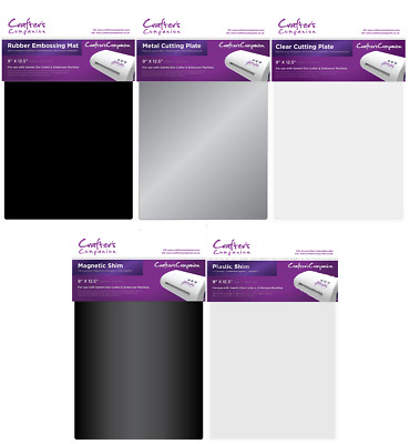 Crafters Companion GEMINI Accessories - Cutting Plates, Shims, Mats - Choice of