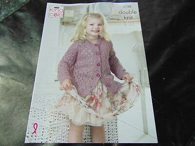 844ef3d59181 KING COLE DOUBLE Knitting Pattern 4587 Ballet Tops 22-30 ins - £3.35 ...