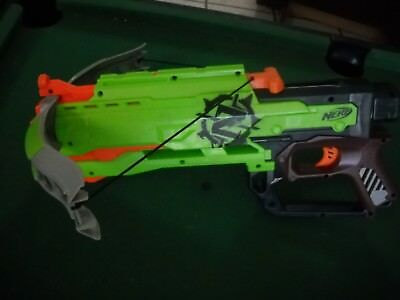 Nerf N-Strike Elite Zombie Strike Crossbow Soft Dart Blaster Gun Toy Hasbro