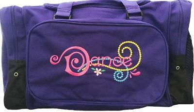 Sassi Designs Emily Duffel Bag with embroidered Dance