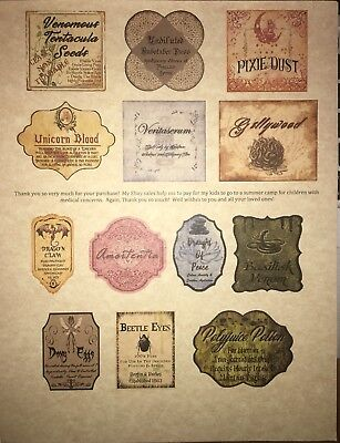 photo about Harry Potter Apothecary Labels Free Printable identify LABELS Just 3\u201d Apothecary Potion Bottles Harry Potter Celebration