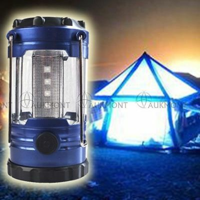 Portable Camping Torch Lantern Battery Operated Night Light Tent Lamp 12// 30 LED