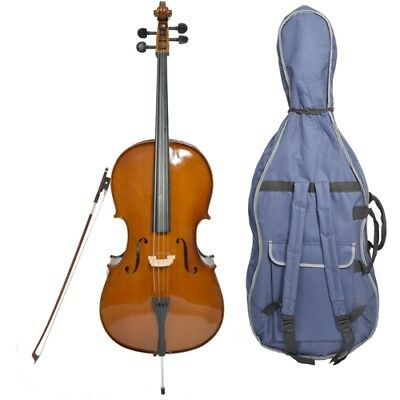 Forenza Prima 2 Cello Outfit with Bag, Bow and Accessories. 1/2 -1/8 Size