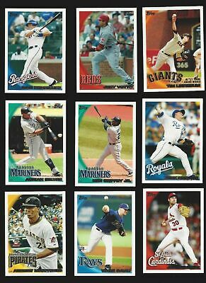 2010 TOPPS SERIES 1  #'s 1-249 ( STARS, ROOKIE RC'S )  WHO DO YOU NEED!!