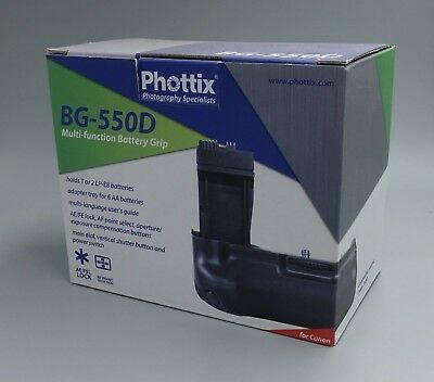 Battery Grip for Canon T2i T3i T4i by Phottix